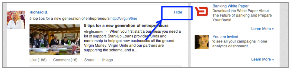 LinkedIn-Status-Up-Dates-Tip-Caspar-Fraiture