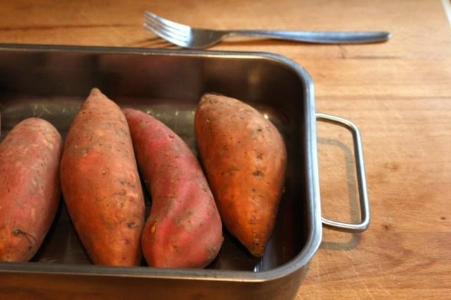 Zoete aardappels