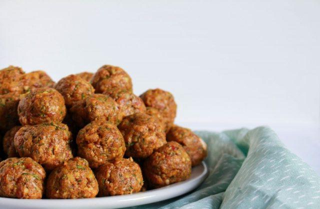 Lamsgehaktballetjes met abrikoos rollen / www.eenlepeltjelekkers.be