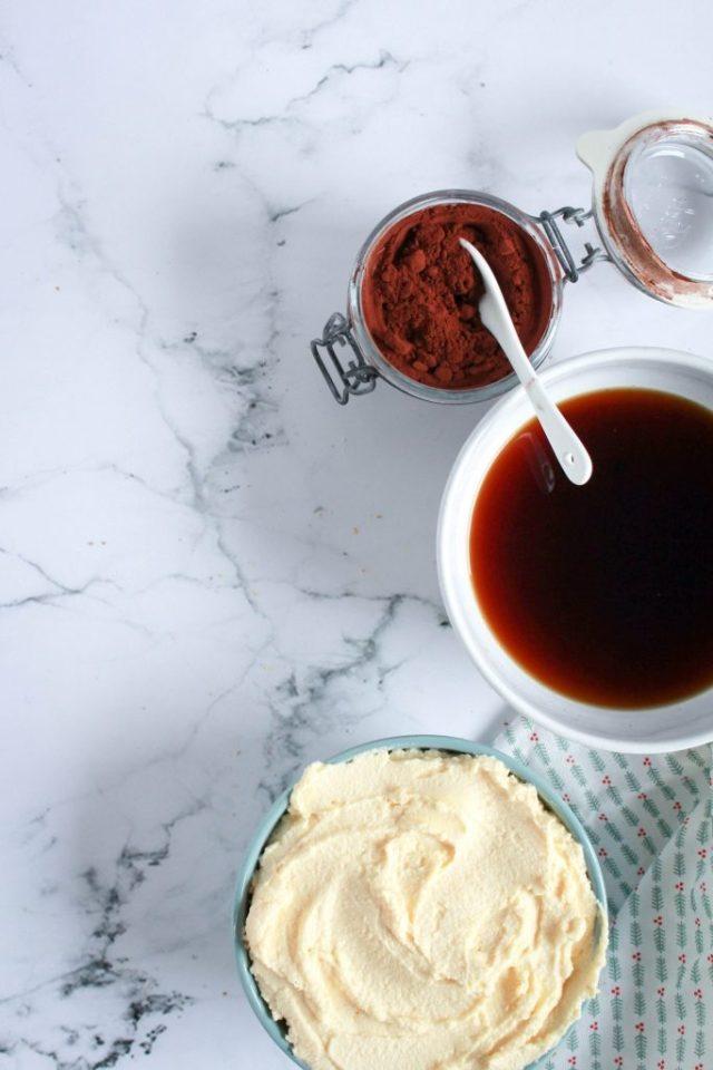 Roomkaas-boterroom, koffie en cacao / www.eenlepeltjelekkers.be