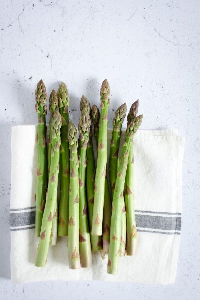Groene asperges / www.eenlepeltjelekkers.be