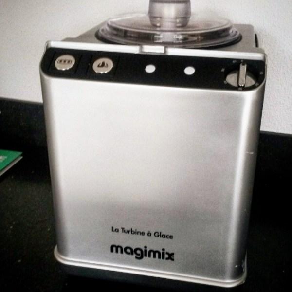 Magimix zelfvriezende ijsmachine, Magimix Turbine a Glace
