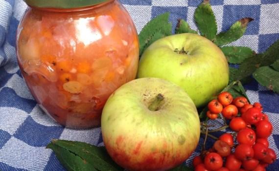 appel-lijsterbes chutney   een tafel vol