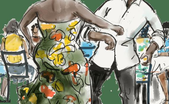pom hoort bij feest | Een tafel vol