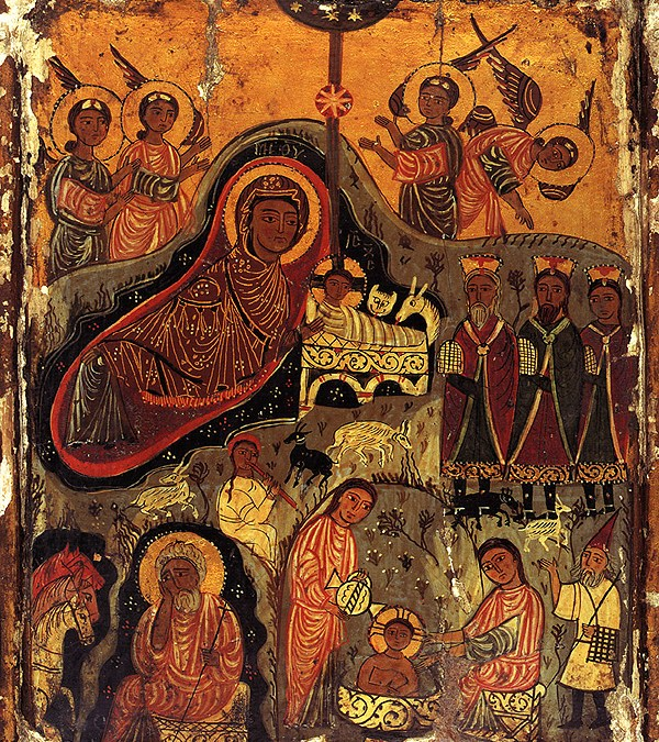 December 31, 2017; Sunday after the Nativity of Christ; Octoechos Tone 5; The Leave-taking of the Feast of the Nativity of Christ, Christmas; Our Venerable Mother Melania the Roman (439)