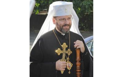 VIDEOS: Patriarch Sviatoslav at St. Sophia, Rome (UKR)