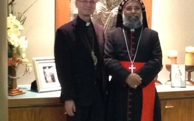 His Beatitude Cardinal Baselios Cleemis visites Edmonton