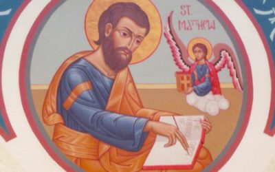 November 16, 2017; The Holy Apostle and Evangelist Matthew