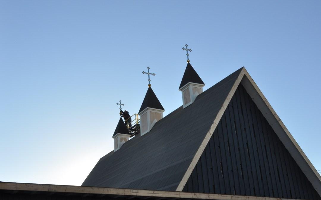 VIDEO: Blessing of Crosses at the New Grande Prairie Parish