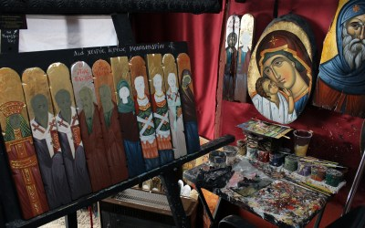 Iconography Workshop: May 4-6 & 11-13 at Dormition Parish in Edmonton