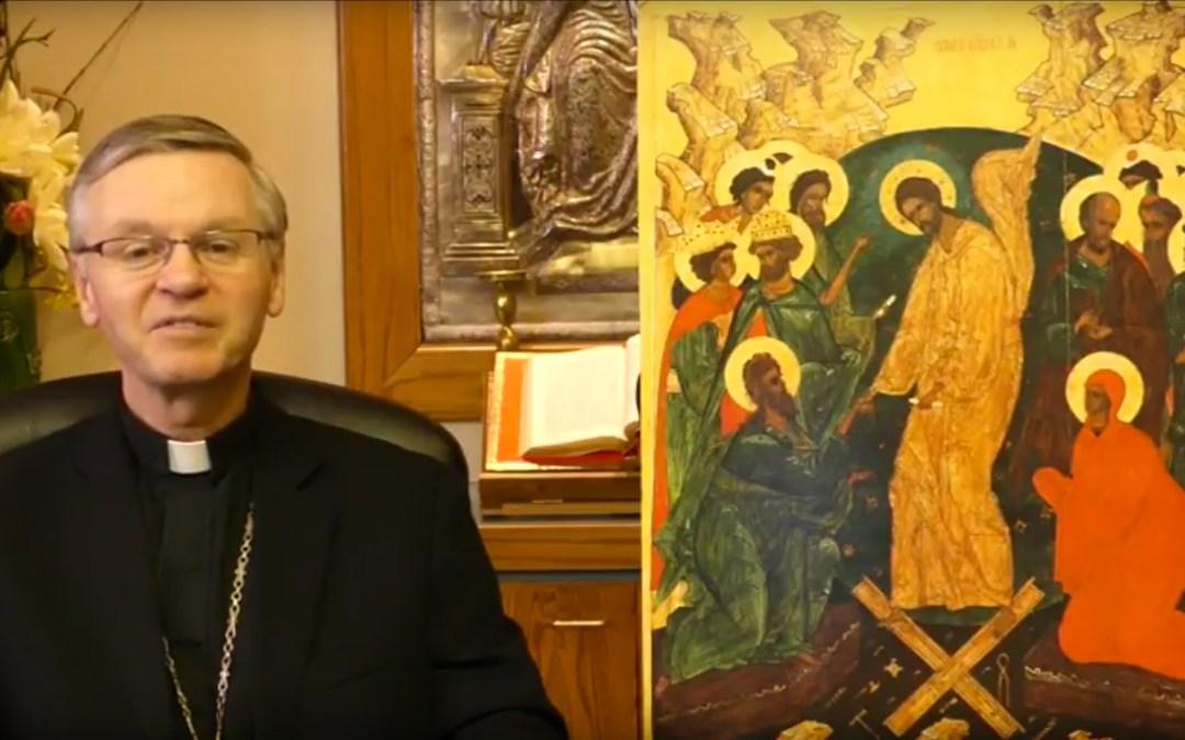 VIDEO: Bishop David's Paschal Message 2017 (ENG/UKR)