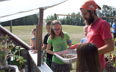 Planting the Seeds of Change: Ukrainian Catholic Children's Camp Oselia takes on a new environmental stewardship focus with C.O.R.E.