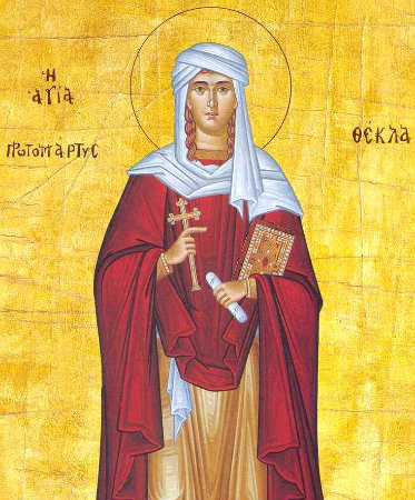 September 24, 2017 Sixteenth Sunday after Pentecost; Octoechos Tone 7; Holy First-Martyr and Equal-to-the-Apostles Thekla