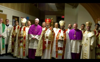 Fellow Eastern Catholic Church Consecrated