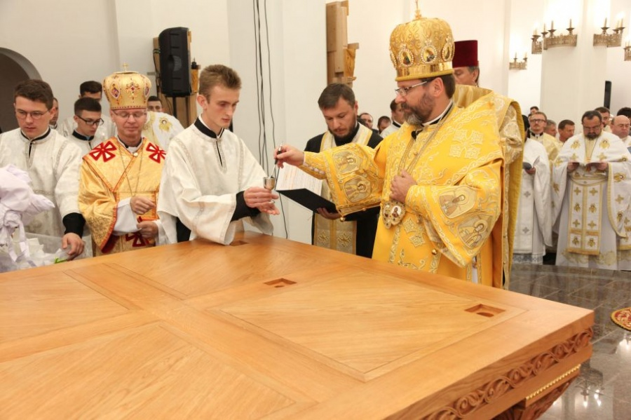 Photos: Consecration of New Seminary Church in Kyiv, Ukraine – Sept 16, 2017