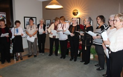 Preserving Tradition: Edmonton Ukrainian Catholic Eparchy Pastoral Centre welcomes Christmas caroling