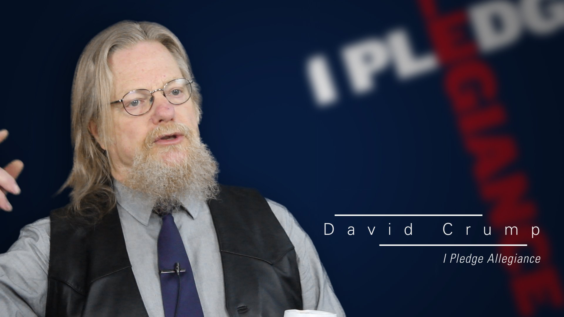 Eerdmans Author Interviews: David Crump on <i>I Pledge Allegiance</i>