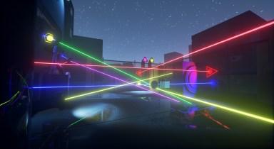 Rooftop Laser Maze
