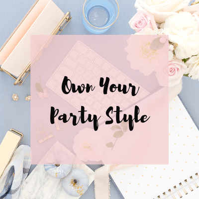 Masterclass Own Your Party Style