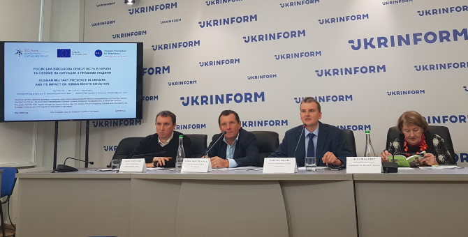 Russian Military Presence in Ukraine and Its Impact on Human Rights Situation