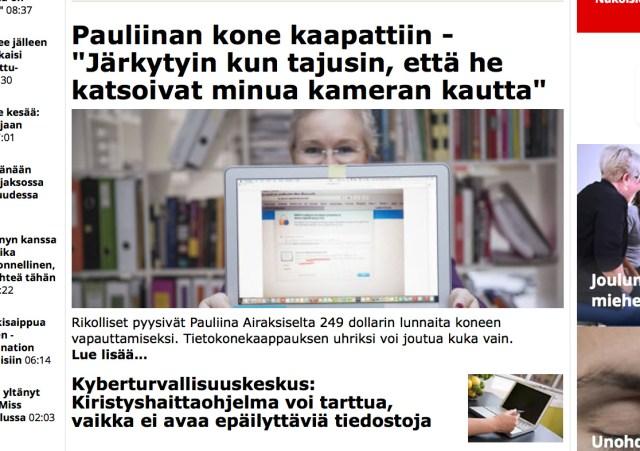 Soomes üha levinumad arvutite ülevõtmised