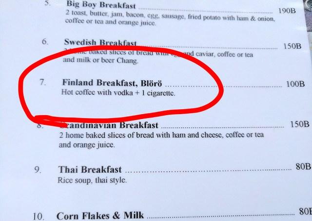 Saagem tuttavaks – Soome hommikusöök Blörö