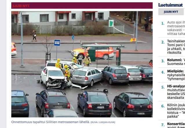 Pealtnägija: otsasõidu ohvrite olukord oli tõesti halb