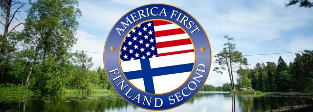 Soome tervitab Donald Trumpi