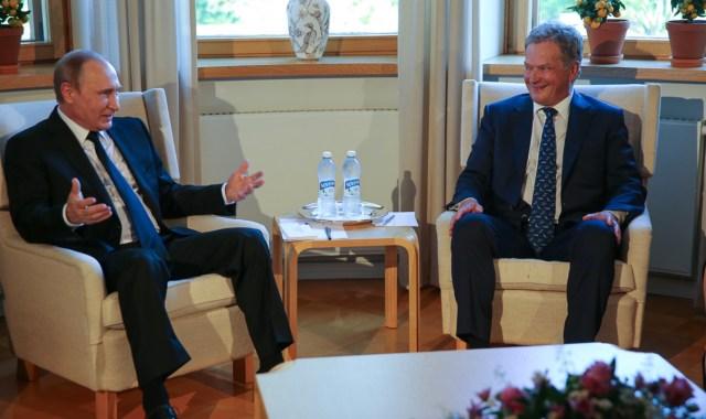 Niinistö kohtub homme Putiniga