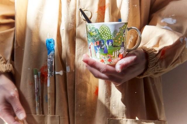 Tamperes tuleb müügile esimene kunstiline Muumi-tass