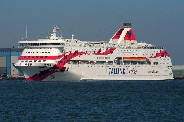 Tallinki laeval oli vägivalla juhtum, inimene suri