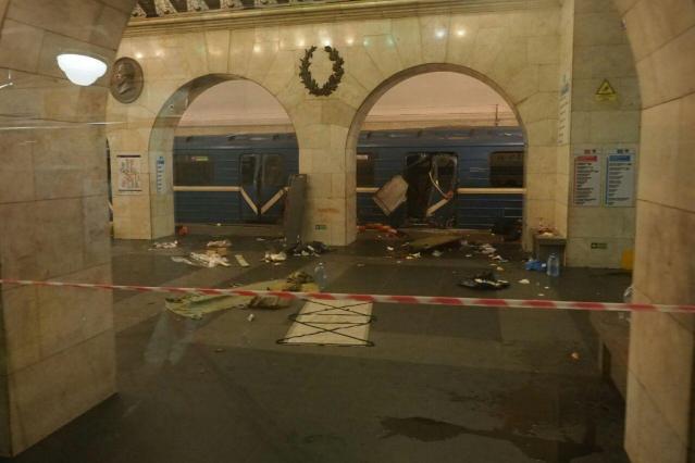 Peterburi plahvatuses hukkunute arv kerkis 14ni