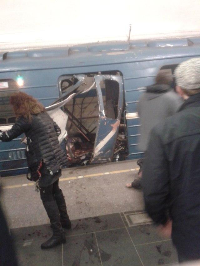 Peterburi metroorongi juht hoidis ära suurema õnnetuse