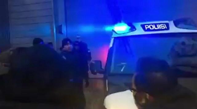 Helsingi politsei kasutas öösel immigrantide vastu gaasi