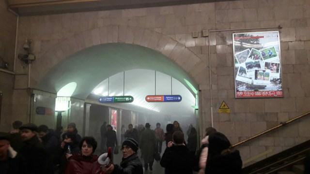 Peterburi plahvatuse põhjus ebaselge, puuduvad teated soomlastest kannatanute kohta