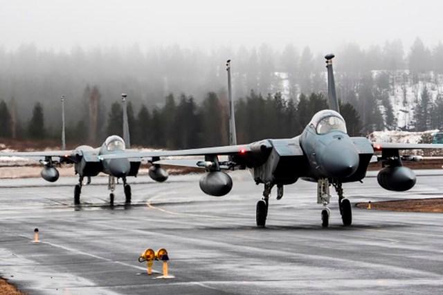 Soomes tuleb suur lennuväeõppus