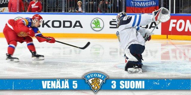 Soome kaotas hoki MMi pronksimängus Venemaale 3:5