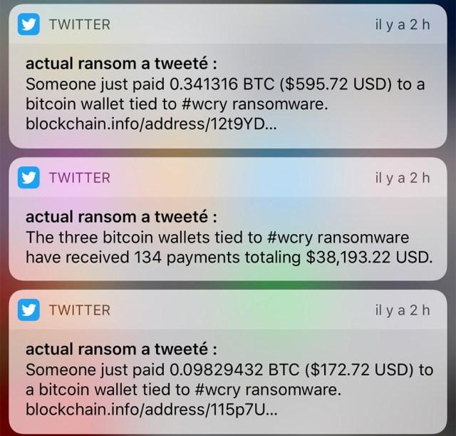 Maailmas makstakse usinalt WannaCry viiruse tõttu lunaraha