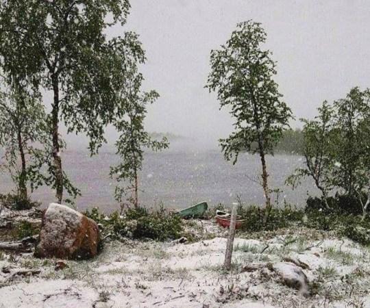 Soome lõunaosas on veel suvi, aga põhjas sajab juba lund – erinevus on nii suur