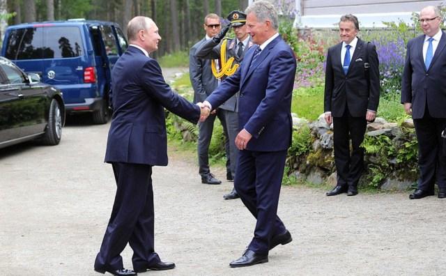 Putin Soomes pildigalerii