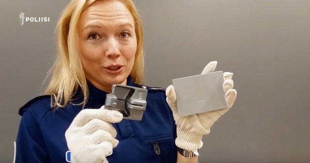 Soome politsei tegi video, kuidas skimmerit ära tunda