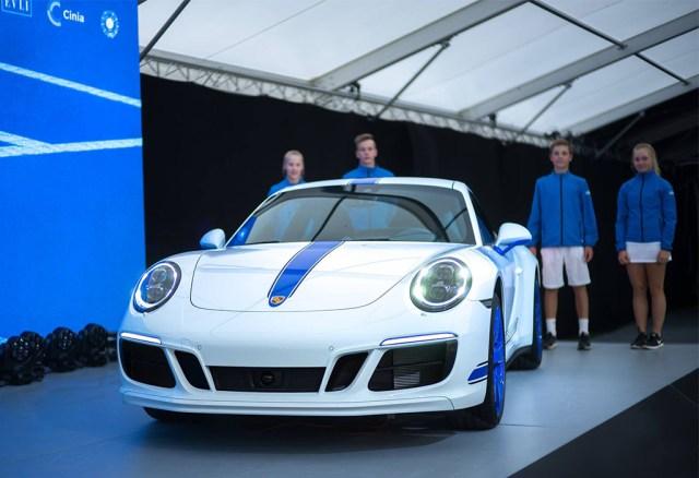 Porsche valmistas Soome 100. aastapäevaks eriauto
