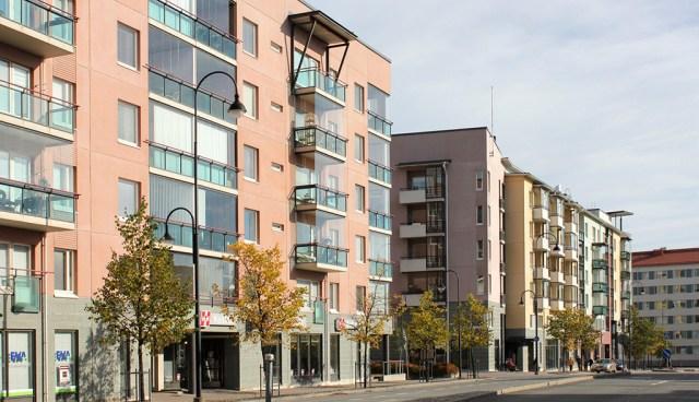 Üha rohkem soomlasi eelistab elada korrusmaja korteris – pooled soomlased elavad korrusmajades