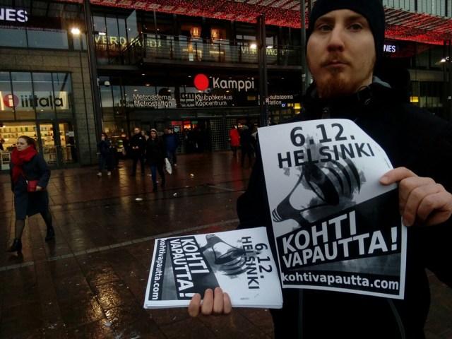 Soome rahvuslased kavatsevad kohtuotsuse edasi kaevata, korraldavad meeleavalduse