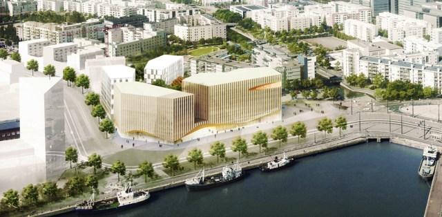 Helsingisse rajatavad Wood City puidust korrusmajad juba hallitavad