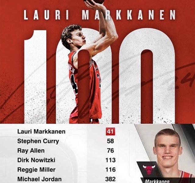Soome korvpallitalent püstitas NBA rekordi