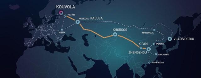 Hiina on leidnud uue kaubatee Venemaa ja Soome kaudu – Soome piirilinna kaubakäive kasvab kiiresti