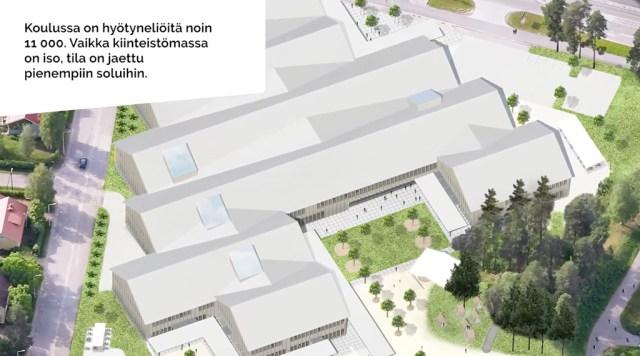 Imatrasse tuleb Soome suurim puidust koolimaja