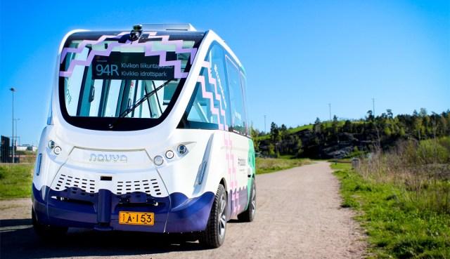 Tänasest on Helsingis liinil robotbuss