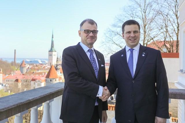 Peaminister Ratas kohtus valitsuste ühisistungi eel Soome ametikaaslase Juha Sipiläga